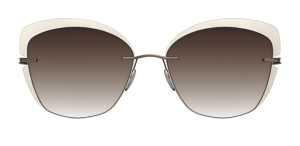 Occhiali Silhouette 2019 Accent Shades Butterfly 8540 Classic Brown Gradient