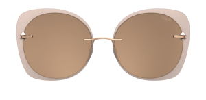 Occhiali Silhouette 2019 Accent Shades Rounded 3530 Glossy Caramel