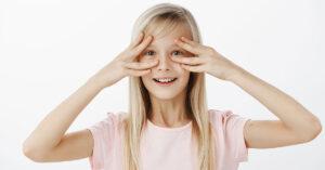 curare la miopia bambino